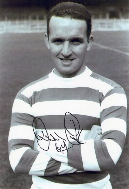 John Clark, Glasgow Celtic, Lisbon Lions, signed 12x8 inch photo.(3)